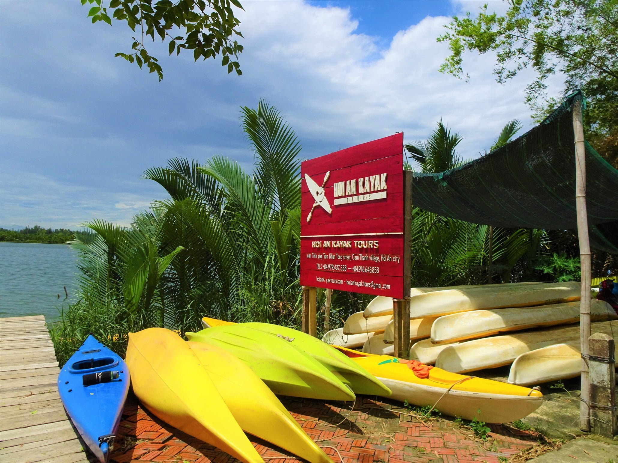 Kayak Rental Launch Point In Hoi An