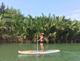STAND UP PADDLE TO HANDICRAFT VILLAGE