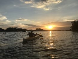 SUNSET PADDLE TO LANTERN TOWN
